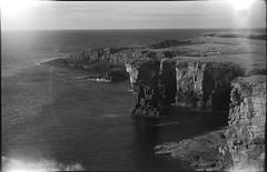 Orkney coast (Mark Dries) Tags: markguitarphoto markdries 6x9 negativescan royer angenieux 105mm triplet fomapan 100iso mediumformat filmcamerainyourpocket scotland orkney