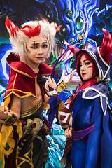 2019 MSI Group Stage Day 2 (lolesports) Tags: cosplay xayah rakan 2019msi 2019midseasoninvitational groupstage groups hanoi leagueoflegends lol lolesports msi nationalconventioncenter vietnam