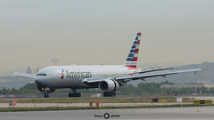 American Airlines / Boeing 777-200 / N787AL (Once Photo) Tags: 737 747 a320 a321 a350 a380 bcn lebl airbus aircraft airplane airport avgeek aviation aviationdaily aviationgeek aviationlovers aviationphotography boeing crew d7200 flight fly flying instaplane landing nikon nikond7200 photography pilot pilotlife plane planes planespotter planespotting rampagent sunset takeoff tamron 777 b777 777200 7772 fan turbofan jet aa american americanairlines brake rr rollsroyce