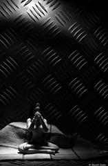 Midori (BenoitGEETS-Photography) Tags: midori figurine a6000 sony toys noiretblanc nb bn bw prière zen pray 112 nue nude