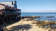 Trip to San Francisco (heytampa) Tags: ca california monterey steinbeckplaza beach mcabeebeach pier fishhopper restaurant