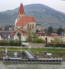 Parrish Church in Weissenkirchen Wachau Valley (photo_paddler) Tags: europe austria wachauvalley village day spring color outdoor availablelight