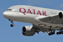 'QR2N' (QR0003) DOH-LHR (A380spotter) Tags: approach landing arrival finals shortfinals threshold belly airbus a380 800 msn0235 a7api qatar القطرية qatarairways qtr qr qr2n qr0003 dohlhr runway27r 27r london heathrow egll lhr