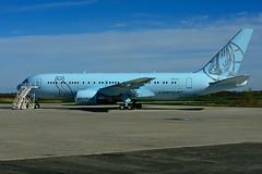 N767CJ (Air Drake - CargoJet) (Steelhead 2010) Tags: cargojet airdrake drake yhm nreg n767cj boeing b767 b767200er vip bizjet