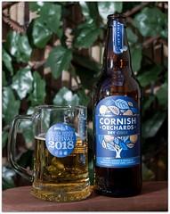 Cider under the Pergola (zweiblumen) Tags: cider cornishorchards tankard garden pergola canoneos50d canonef35mmf2 canonspeedlite430exii yongnuorf603cii zweiblumen polariser