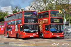 STILL GOING !!!!- (hotspur_star) Tags: londontransport londonbuses londonbus londonbuses2019 tfl transportforlondon busscene2019 doubledeck arrivalondon stagecoachlondon lj55btf lx53kaj 128 247