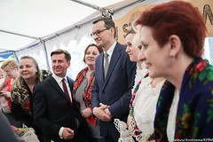 """""""Nasze smaki"""" w Mławie (Kancelaria Premiera) Tags: premier mateuszmorawiecki mława wizyta naszesmaki rolnicy"""