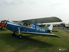 G-ADKK de Havilland DH-87B Hornet Moth, RNAS Yeovilton, Ilchester, Somerset (Kev Slade Too) Tags: gadkk dehavilland dh87b hornetmoth egdy rnasyeovilton ilchester somerset