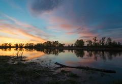 DSC_7751 (alexey.malantsev) Tags: закат небо природа пейзаж весна озеро