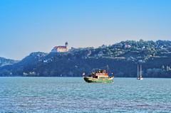At the Balaton Lake / A Balatonnál (Ibolya Mester) Tags: landscape hungary magyarország balaton tihany boat water
