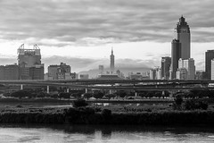 A Taipei view (jasoncremephotography) Tags: taipei taiwan taipei101 leica leicasl sl blackandwhite monochrome