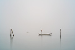 venice (Roberto.Trombetta) Tags: italy venice fog minimal minimalism casoni winter boat fishing house long exposure pellestrina island home still venezia veneto lagoon laguna acqua reflection sony 7rii alpha batis zeiss carlzeiss art fineart amazing stunning beautiful landscape paesaggio 7rm2 peaceful calma quiet calm wood wooden mist haziness misty foschia italia legno surreal batis1885 85 water sky