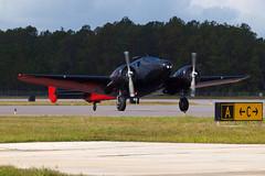 171105_041_JaxAS_MattYounkin (AgentADQ) Tags: jacksonville nas air show airshow airplane plane stunt aerobatic 2017 matt younkin beech beechcraft twin 18