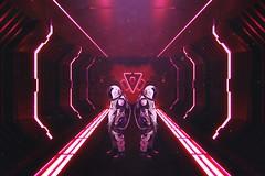 SIMILITUDINE (Edoardo Geusa) Tags: similitudine astronaut astronauta stranger things edoardo geusa artwork cinema4d graphicdesigner graphic gfx design