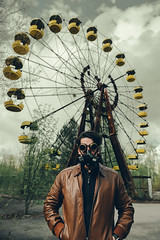 Abandoned funfair. (Matthias Dengler || www.snapshopped.com) Tags: chernobyl matthias dengler snapshopped pripyat funfair swimming pool rusty abandoned dark obscure radiation ukraine explosion reactor big wheel fujifilm travel discover explore create darkness lost place ruins