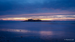 Fort Bloqué, Ploemeur (Patrick ARFI) Tags: morbihan bretagne ploemeur fort bloqué nocturne crépuscule dusk seascape ocean britanny night sunset beach tide lanscape