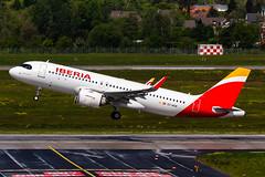 EC-NCM (swarley1989) Tags: düsseldorf iberia airbus airport a320 neo planespotting plane aeroplane germany