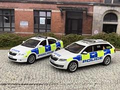 1/43 Code 3 Skoda Octavia West Midlands Police Dog Unit (Mike's Code 3 Models) Tags: 143 code 3 skoda octavia west midlands police dog unit bx17ggj code3