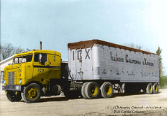 KW ICX Dick Copello Colorized (gdmey) Tags: kenworth fallenflag coe colorized