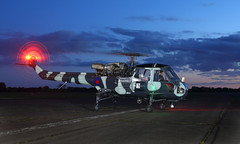Wasp (Treflyn) Tags: helicopter westland wasp has mk 1 xt787 gkaxt engine run blue hour abingdon airfield threshold aero night shoot