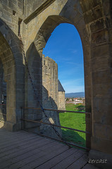CARCASSONNE-059--OCCITANIE-PANORAMIQUE-_DSC8755-2 (bercast) Tags: aude carcassonne chateau chateaumedival france lesremparts occitanie ue bc bercast lacitédecarcassonne lamuraille vuesurlaville