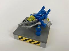 Micro Spaceship (Alego37) Tags: space spaceship benny lego moc mocs micro microscale classic ship