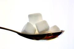 Sugar Cubes by Tablespoon (helensaarinen) Tags: macro tablespoon squares sugarcubes