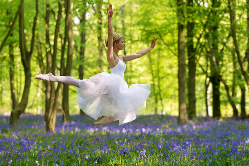 Dances with bluebells # 14
