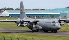 91-1233 (PrestwickAirportPhotography) Tags: egpk prestwick airport 911233 usaf united states air force lockheed c130h hercules kentucky national guard