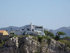 Strange villa in Marseille