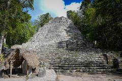La Iglesia Pyramid - Cobá Maya Ruins - Coba Mexico (mbell1975) Tags: tulum quintanaroo mexico la iglesia pyramid cobá maya ruins coba yucatán peninsula yucatan mayan archeological park parc pyramide ancient mesoamerican