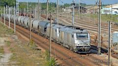 BB 75103 + BB 75044, Longueau, 12/05/2019 (Thierry Martel) Tags: longueau locomotivethermique bb75000 vfli