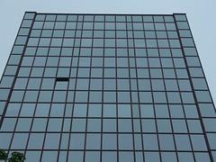 Open Window[s] Theory (mkorsakov) Tags: dortmund city innenstadt kampstrasse fenster windows hochhaus skyscraper linien lines offen open minimal spiegelung reflection