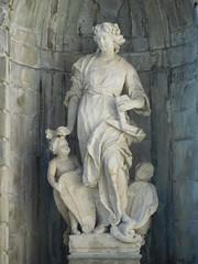 Palazzo Terzi - Statue of Architecture by Giovanni Antonio Sanz - Bergamo 1 (litlesam1) Tags: statues italy2019 duepazziragazziamilano2019 march2019 bergamo