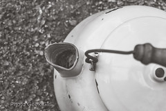 Project 365/Day 131: Antique Tea Kettle