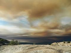 Bald Rock Views (totalescape.com) Tags: wildfire california smoke skies toxic reminders wildlandfire forestfire plumas buttecounty campfire