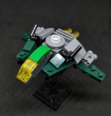 MB-01 Bowman Multirole Fighter (Vitor O S Faria) Tags: df dogfight mfz mf0 mobileframezero lego ship fighter starfighter spaceship starship