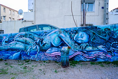"France - Sète - ""Mermaid"" by Amonalis (andrei.leontev) Tags: sète france frankreich occitanie streetart arturban amon alisdesète"