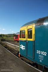 33102 and 33021 at Cheddleton (jon33040) Tags: 33021 class33 churnetvalleyrailway 33102 aruba