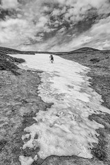 Željin (Djordje Petrovic) Tags: zeljin željin blackandwhite tokina1224mm tokina tokinalens monochrom mountain hiking nikond80 nikon nature sky clouds snow peak serbia srbija