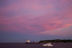 DSC00992 (Damir Govorcin Photography) Tags: sunsetdusk over sydney harbour sky clouds colours water boats wide angle sony a7ii zeiss 1635mm