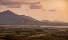 Kerry Sunset (josullivan.59) Tags: 2019 dingle europe kerry kilmalkedar country countryside landscape light mountain nature old peninsula sunset sunsetlight telephoto travel nicelight scenic wallpaper water weather 3exp evening outside outdoor orange artistic day goldenhour coast
