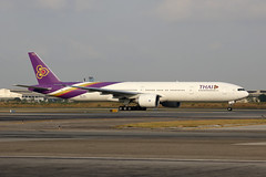 HS-TKX, Boeing 777-300ER, Thai Airways, Suvarnabhumi Bangkok (ColinParker777) Tags: hstkx boeing 777 b777 b77w 77w 777300er b777300er b7773d7er 42113 1267 aircraft airliner airplane plane aeroplane fly flying flighttaxy taxi taxiway taxyway thai air airlines airways tg tha aviation purple suvarnabhumi bangkok airport vtsb bkk thailand canon 5dsr 5ds 5 dsr ds 100400 mkii mk2 l lens zoom pro telephoto