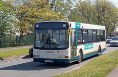 Arriva X702DBT (Mike McNiven) Tags: volvob10ble wrightrenown arriva northwest greenlane depot drivertraining training driver wythenshawe altrinchamroad liverpool