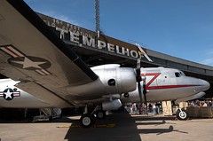 C-54 Rosinenbomber Berlin Tempelhof 12.5.2019 (rieblinga) Tags: berlin thf c54 rosinenbomber verkehrsmuseum fest der luftbrücke 1252019 us air force