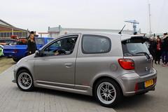 2004 Toyota Yaris (Dirk A.) Tags: 73pdbk sidecode6 2004 toyota yaris onk