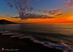 DSC00093a (id2770) Tags: ceredigion aberystwyth faberystwyth cardigan bay sea sky sunset dusk clouds sony a6000 ilce6000