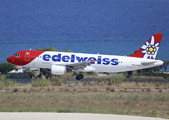 HB-IHX (QC PHOTOGRAPHY) Tags: rhodes diagoras greece july 27th 2018 edelweiss a320200