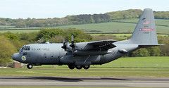 92-3022 (PrestwickAirportPhotography) Tags: egpk prestwick airport usaf united states air force c130h hercules lockheed 923022 youngstown reserve command