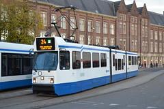 GVB 841 (Will Swain) Tags: amsterdam 9th november 2018 netherlands transport travel europe train trains rail railways railway nl continent eu station tram trams gvb 841